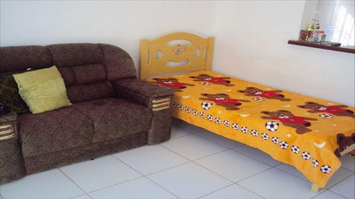 ref.: 40900 - casa em itanhaém, no bairro tupy - 2 dormitórios