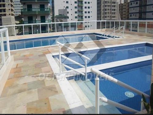 ref.: 411 - apartamento em praia grande, no bairro aviacao - 2 dormitórios