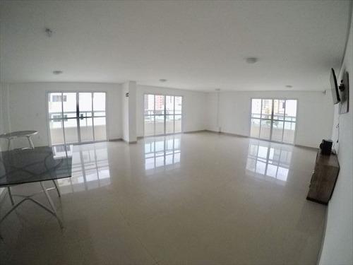 ref.: 4121 - apartamento em praia grande, no bairro ocian - 2 dormitórios