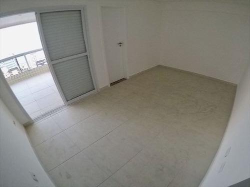 ref.: 4132 - apartamento em praia grande, no bairro guilhermina - 3 dormitórios