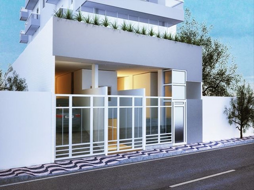 ref.: 4141 - apartamento em praia grande, no bairro boqueirao - 1 dormitórios