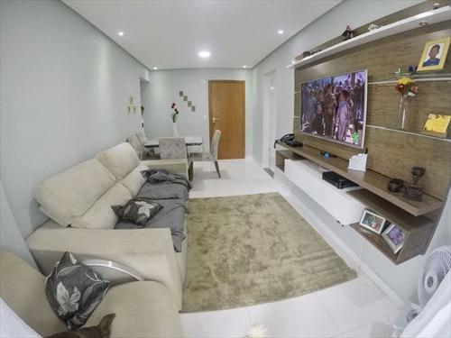 ref.: 4144 - apartamento em praia grande, no bairro tupi - 2 dormitórios