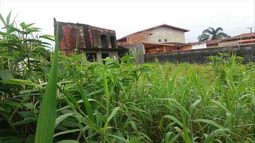 ref.: 41500 - terreno em itanhaém, no bairro cibratel 2
