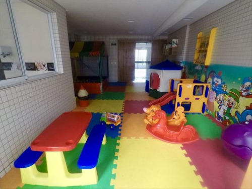 ref.: 4166 - apartamento em praia grande, no bairro boqueirao - 2 dormitórios