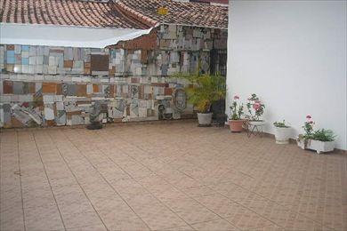 ref.: 419500 - casa em praia grande, no bairro vila guilhermina - 3 dormitórios