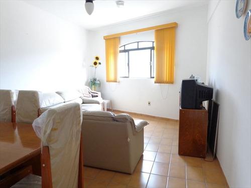 ref.: 426 - apartamento em praia grande, no bairro solemar - 2 dormitórios