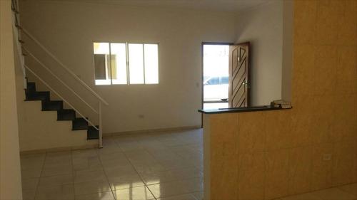 ref.: 426 - casa condomínio fechado em itanhaém, no bairro suarão - 2 dormitórios