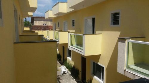 ref.: 42600 - casa condomínio fechado em itanhaém, no bairro suarão - 2 dormitórios
