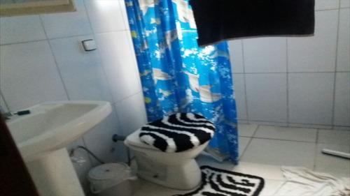 ref.: 428 - casa em itanhaém, no bairro balneário tupy - 3 dormitórios