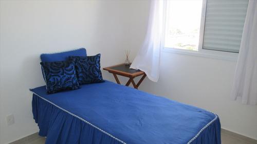 ref.: 4300 - apartamento em itanhaém, no bairro vila são paulo - 2 dormitórios