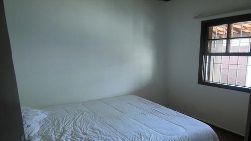 ref.: 43000 - casa em itanhaém, no bairro suarão - 2 dormitórios