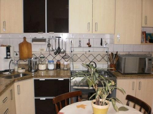 ref.: 4308 - casa em santos, no bairro macuco - 2 dormitórios