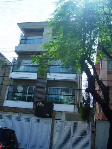 ref.: 4314 - casa em santos, no bairro embare - 3 dormitórios