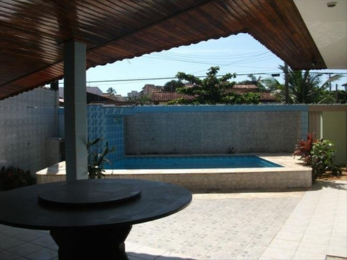 ref.: 432 - casa em itanhaem, no bairro praia do sonho - 3 dormitórios