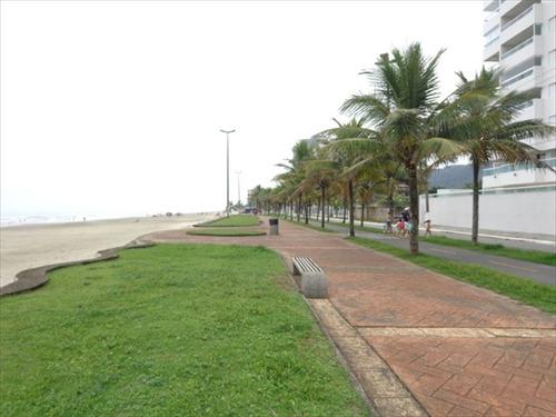 ref.: 435 - apartamento em praia grande, no bairro solemar - 3 dormitórios