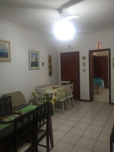 ref.: 43500 - apartamento em praia grande, no bairro vila guilhermina - 2 dormitórios