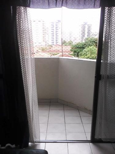 ref.: 435100 - apartamento em praia grande, no bairro vila guilhermina - 1 dormitórios