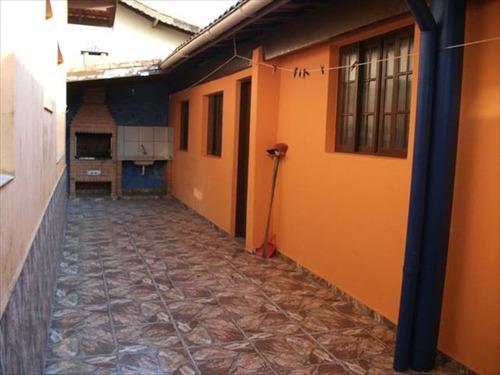ref.: 439 - casa em itanhaem, no bairro grandesp - 3 dormitórios