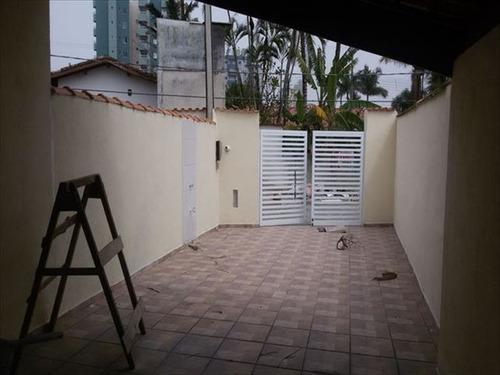 ref.: 441 - casa em mongagua, no bairro oceanopolis - 2 dormitórios