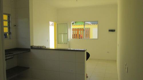 ref.: 44400 - casa em itanhaém, no bairro itanhaém - 2 dormitórios