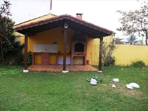 ref.: 445 - casa em itanhaem, no bairro cibratel ii - 2 dormitórios