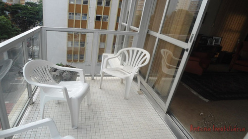 ref.: 4456 - apartamento em sao paulo, no bairro higienopolis - 3 dormitórios