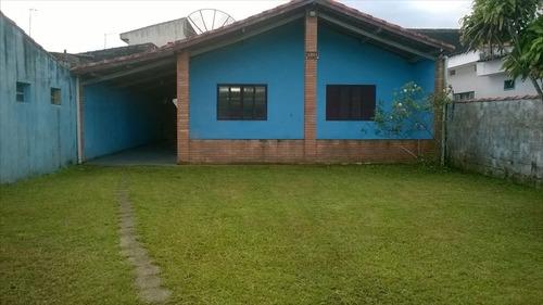 ref.: 44600 - casa em itanhaém, no bairro gaivota - 2 dormitórios
