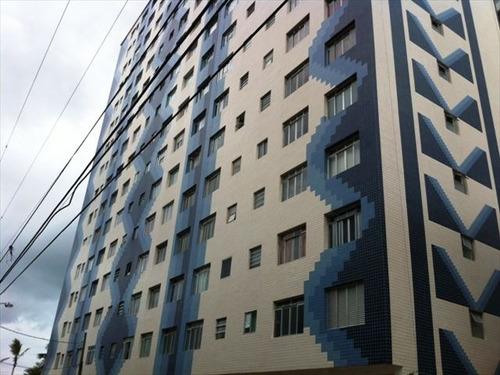 ref.: 446000 - apartamento em praia grande, no bairro vila guilhermina - 1 dormitórios