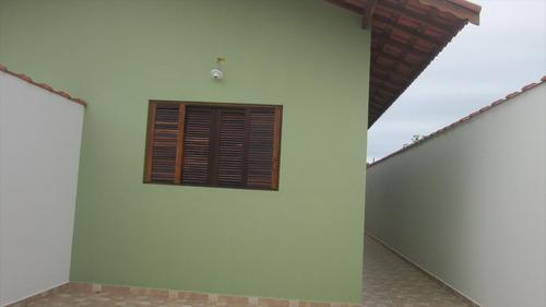 ref.: 44700 - casa em itanhaém, no bairro suarão - 2 dormitórios