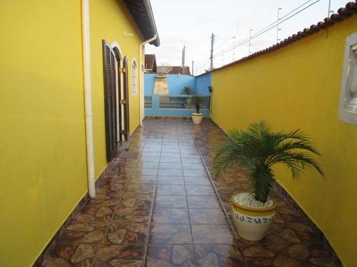 ref.: 45 - casa em mongagua, no bairro jussara - 2 dormitórios