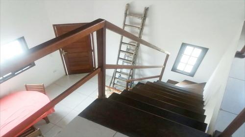 ref.: 450 - casa em itanhaém, no bairro suarão - 3 dormitórios