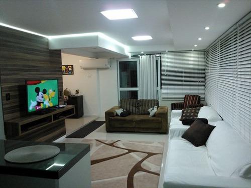ref.: 4513 - apartamento em santos, no bairro gonzaga - 3 dormitórios