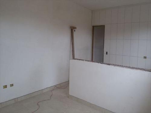 ref.: 453 - casa em mongagua, no bairro jardim leonor - 2 dormitórios