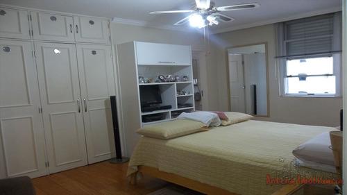 ref.: 4557 - apartamento em sao paulo, no bairro higienopolis - 3 dormitórios