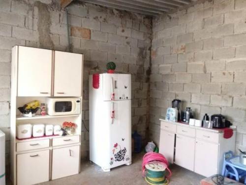 (ref: 4661)casa em construção- itanhaém/sp - santa cruz