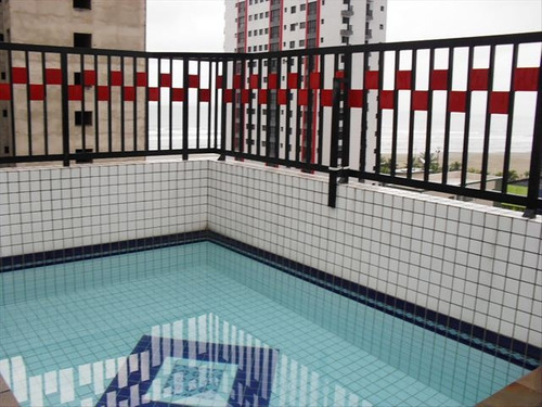 ref.: 467 - apartamento em praia grande, no bairro boqueirao - 3 dormitórios