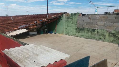 ref.: 468 - casa em itanhaém, no bairro jardim magalhães - 3 dormitórios