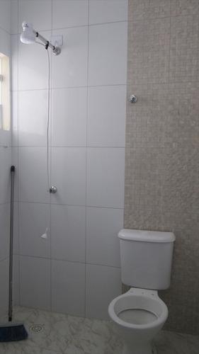 ref.: 47 - casa em itanhaém, no bairro jardim marilu - 2 dormitórios