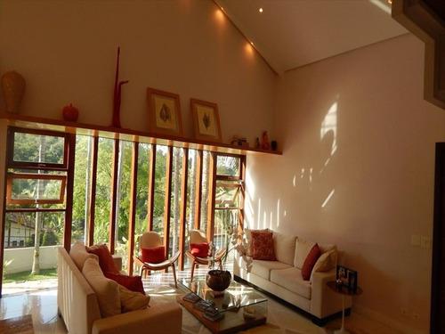 ref.: 4732 - casa condomínio fechado em cotia, no bairro granja viana ii - 8 dormitórios