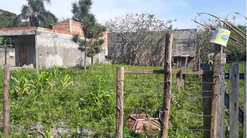 (ref: 4768) terreno itanhaém/ sp- palmeiras