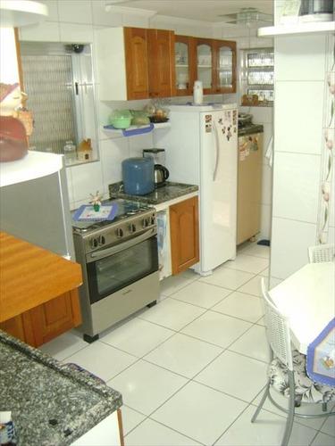 ref.: 4783 - casa em santos, no bairro marapé - 4 dormitórios