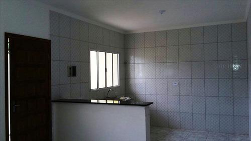 ref.: 47900 - casa em itanhaém, no bairro jardim america - 2 dormitórios