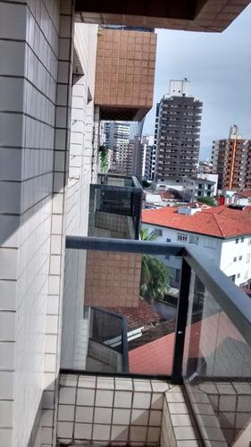 ref.: 48 - apartamento em praia grande, no bairro guilhermina - 2 dormitórios