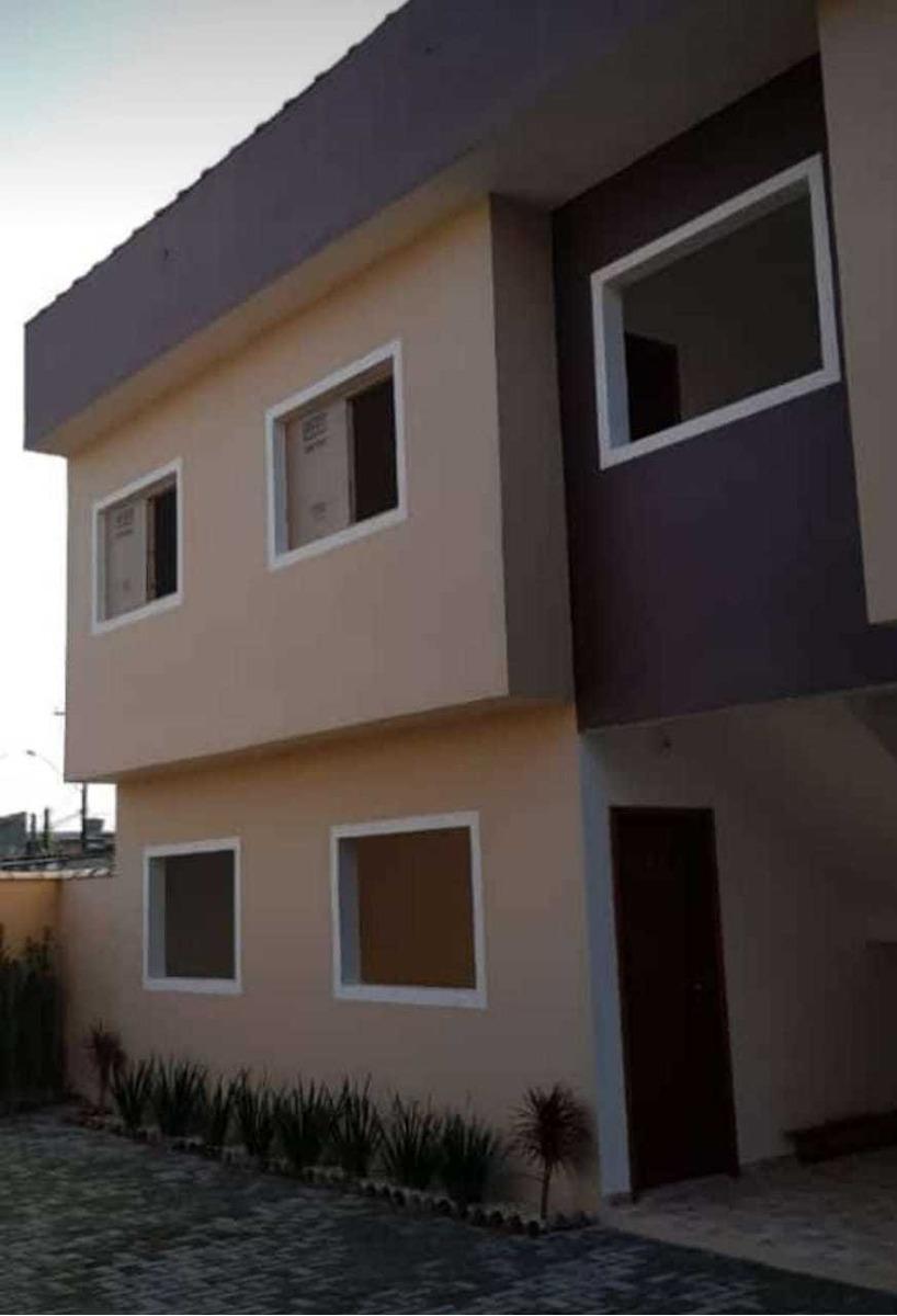 (ref: 4870)casas decoradas com mobilha - itanhaém/sp