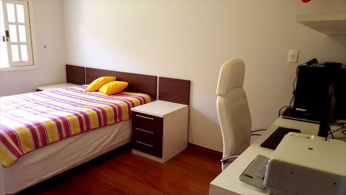 ref.: 4917 - casa condomínio fechado em cotia, no bairro granja caiapia - 4 dormitórios