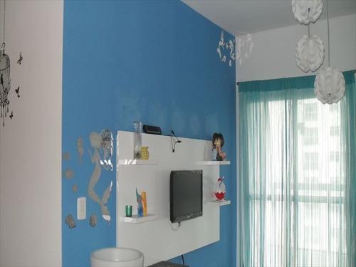 ref.: 4934 - apartamento em sao vicente, no bairro itarare - 3 dormitórios