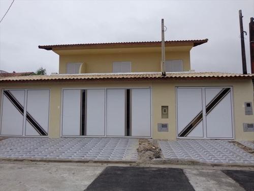 ref.: 497 - casa em praia grande, no bairro caicara - 2 dormitórios