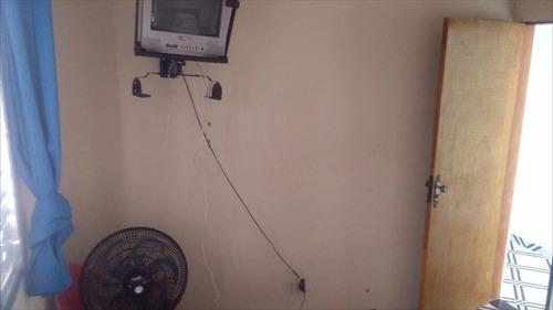 ref.: 500 - casa em itanhaém, no bairro jardim tanise - 2 dormitórios