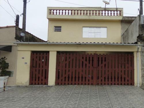 ref.: 500 - casa em praia grande, no bairro melvi - 4 dormitórios