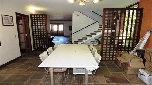 ref.: 5004 - casa condomínio fechado em cotia, no bairro jardim semiramis - 3 dormitórios
